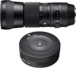 Sigma 150-600mm F5-6.3 DG OS HSM Zoom Lens (Contemporary) for Nikon DSLR Cameras includes Bonus Sigma USB Dock for Nikon Lens