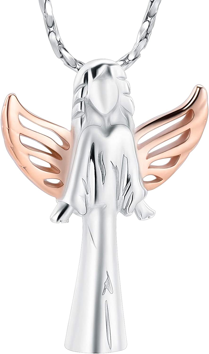 Imrsanl Cremation Jewelry with Angel Memorial Lady Locket OFFicial Charm Ranking TOP13