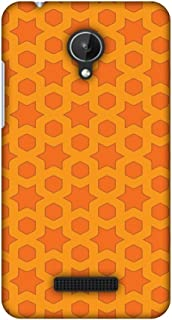 Micromax Canvas Spark Q380 Case, Premium Handcrafted Designer Hard Shell Snap On Case Shockproof Printed Back Cover for Micromax Canvas Spark Q380 - Geometric Flowers 1