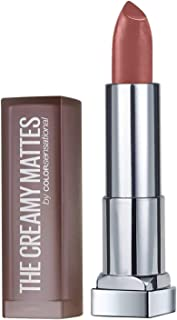Maybelline Color Sensational Creamy Matte Lipstick, Nude Nuance, 0.15 Ounce.