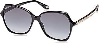 جيفينشي مستطيلة نظارات شمسية للنساء - رمادي