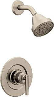 Moen T2902EPBN Gibson Posi-Temp Pressure Balancing Eco-Performance Modern Shower Only Trim, Valve Required, Brushed Nickel