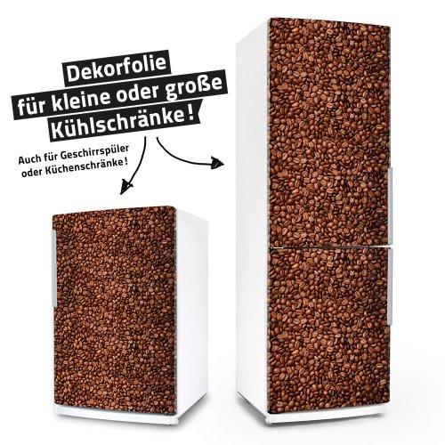 Kühlschrank- & Geschirrspüler-Folie --- Kaffeebohnen --- Dekorfolie Aufkleber Klebefolie Front Kaffee