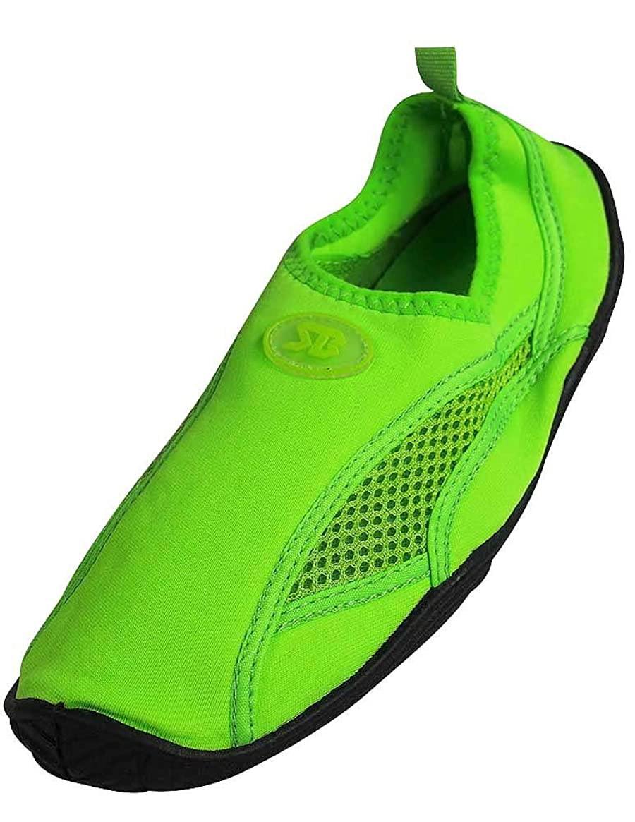 Starbay - Womens Water Shoe Aqua Sock, Green 37363-9B(M) US