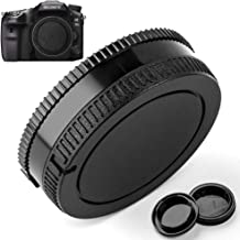 Camera Body Cap and Lens Rear Cap Cover Replacement for Sony Alpha A-Mount/Minolta AF Mount Lens,2 Packs