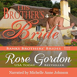 His Brother's Bride audiobook cover art