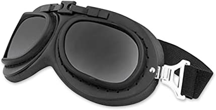 Black Brand Unisex Adult Gearhead Gloss Black Goggles with Interchangeable Lens BB2008