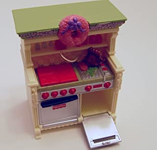 Fisher Price Loving Family Dollhouse Furniture Kitchen Stove with Sound