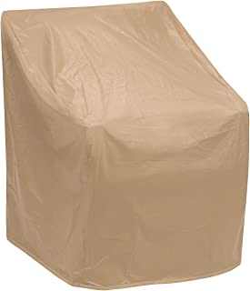 Protective Covers Weatherproof Wicker Chair Cover, Regular, Tan