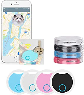 4 Pack Smart Bluetooth Tracker & Bluetooth Key Finder – Key Locator Device with App,GPS Tracking Device for Kids Pets Keyc... photo