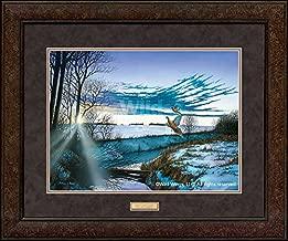 Crisp Winter Light - Pheasants GNA Premium+ Framed Print by Anthony Padgett