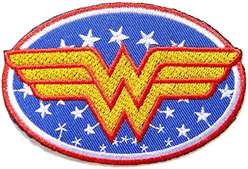 Wonder Women Superhero Comics Cartoon Logo Kid Baby Girl Jacket T shirt Patch Sew Iron on Embroidered Symbol Badge Cloth Sign Costume