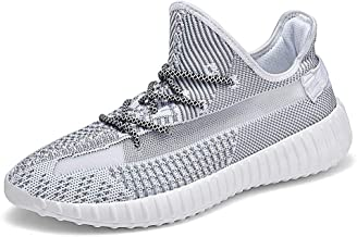 JIYE Men's and Women's Athletic Performance Gym Sneakers Walking Shoes Stylish Breathable Sport Tennis Shoes