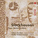 Bass Clarinet & Piano by STOCKHAUSEN K. (2007-09-25)