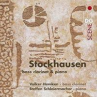 Bass Clarinet & Piano by STOCKHAUSEN K. (2007-09-25)