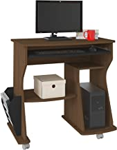 Artely 160 Computer Desk, Brown/Black, 78 cm x 88 cm x 46 cm