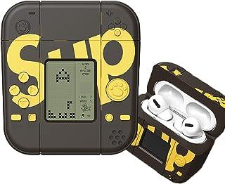 AirPods/AirPods Proケース 2020年発売用 充電ケース シリコンケース カバー エアーポッズプロケース アップルイヤホン 保護ケース 耐衝撃 防水 防塵 充電便利 ミニゲーム機を作ることができます 26種類の経典ミニゲームを...