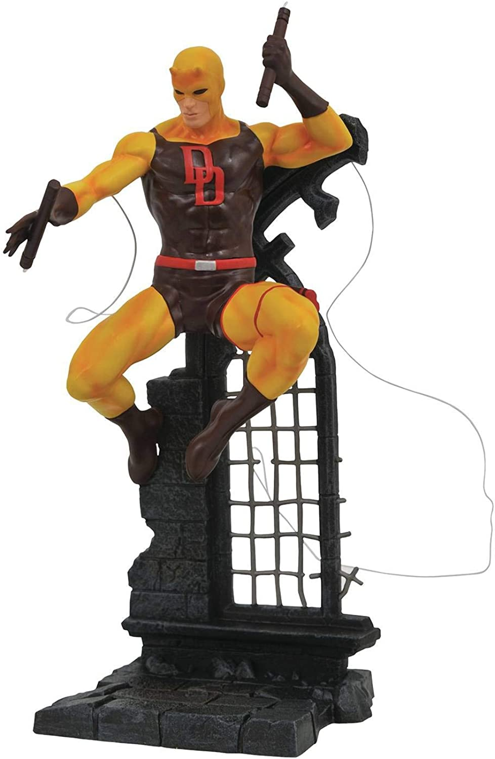 Marvel Diamond Gallery Yellow Daredevil Retailer Summit 2019 Exclusive Statue