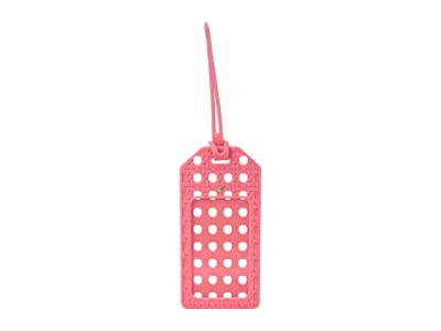 Kate Spade New York Caning Luggage Tag (Coral) Wallet