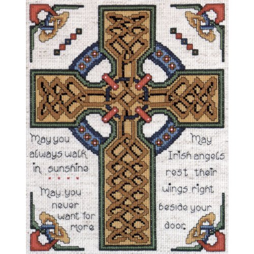 Tobin Celtic Cross Counted Cross Stitch Kit