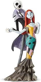 Enesco Disney Showcase Couture de Force Jack and Sally Deluxe Figurine, 8.74 Inch, Multicolor