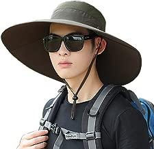 Super Wide Brim Men Fishing Sun Hats, Sports Outdoor Travel Women Bucket Cap, Golf Cycling Safari Boonie Hat