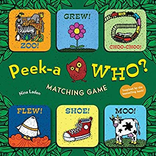 Peek-a Who? Matching Game (Memory Matching Games for Toddlers, Animal Matching Games for Kids, Preschool Memory Games)