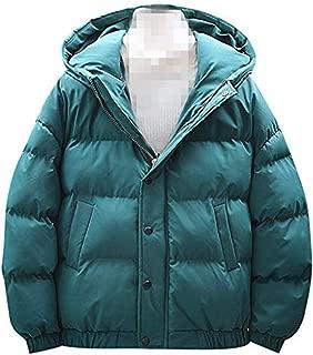 4XL 2019 Winter Down Jackets Men Fashion New Cotton Coat Warm Lightweight Tops Outwear Big and Tall Overcoat Hoodies