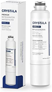 Crystala Filters DA29-00020B Water Filter Replacement for Samsung Refrigerators, Compatible with Samsung DA29-00020B, DA29-00020A, HAF-CIN, HAF-CIN/EXP, 46-9101, 1 Pack