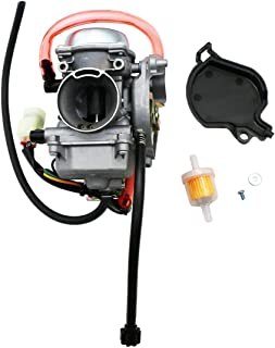 KIPA Carburetor For Kawasaki KVF300 KVF 300 PRAIRIE 300 2X4 4X4 Carb 1999-2002 ATV KVF300B KVF300A with Fuel Filter