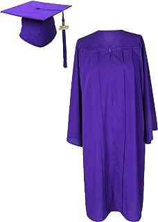 purple graduation robe