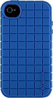 Speck Products PixelSkin Rubberized Case for iPhone 4/4S - 1 Pack - Carrying Case - Cobalt