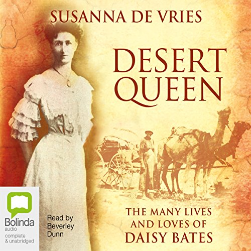 Desert Queen audiobook cover art