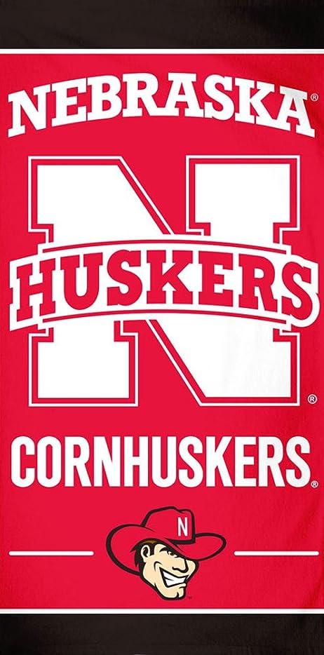 コンパスの憂鬱ネブラスカCornhuskers NCAA 30?x 60インチビーチタオル