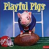 Calendario de pared TF PUBLISHING 1710352017, Playful cerdos