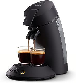 Philips Senseo Original Plus Koffiepadapparaat -2 Koffievariaties (Mild en Intens) -Zet 1 of 2 Kopjes Tegelijk -0.7 Liter ...