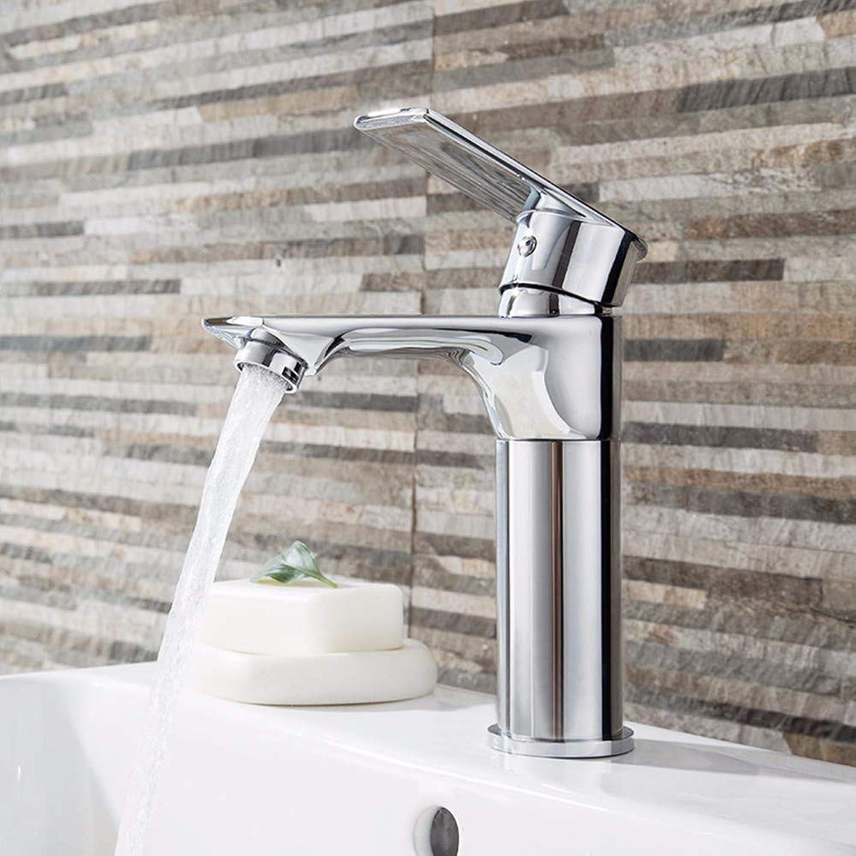 Wasserhahn badezimmer Wasserhahn aus dem Waschbecken, kalt und hei Toilette, schwarzes Tischwaschbecken Hebebühne, Drehbügel, Kupferwaschbecken mit einem einzigen Loch,C