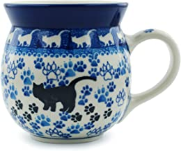 polish pottery bubble mugs