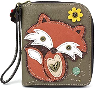 CHALA Pal Zipper Wallet Collection (Fox Olive)