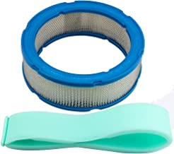 Kizut 394018S Air Filter 272490S for Briggs & Stratton 394018 392642 30-101 100-131 Rotary 2777 Lawn Mower with Pre Filter Parts Kit