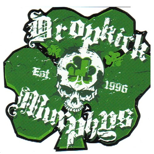 Dropkick Murphys - Est. 1996 - Irish Shamrock / 3 Leaf Clover Logo - Sticker/Decal