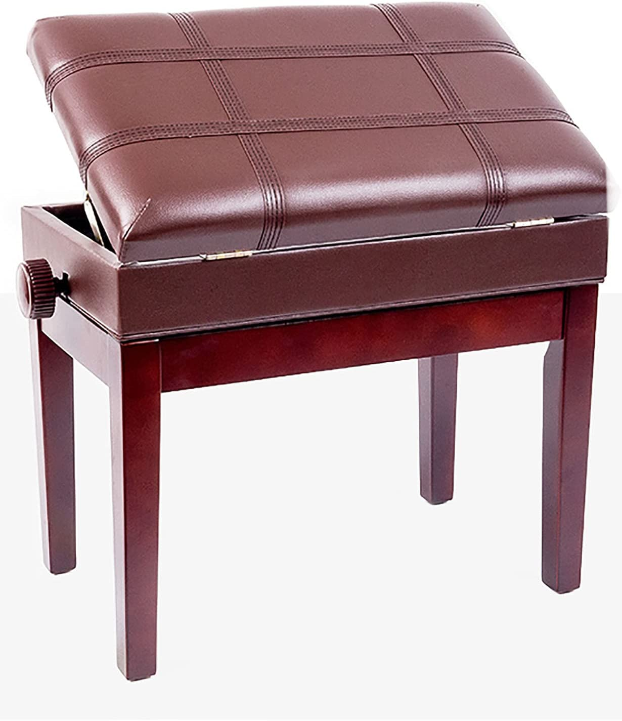 Gprice Piano Bench Stool with Max 68% National uniform free shipping OFF wi Music Storage Solo