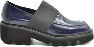 VIC MATIÉ Luxury Fashion Womens MCBI37730 Blue Lace-Up Shoes | Season Outlet