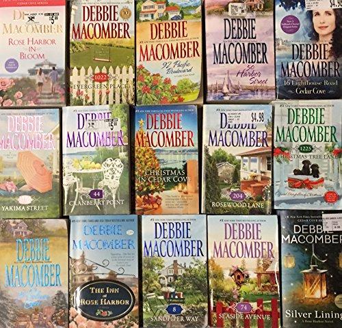 Debbie Macomber Cedar Cove Novel Collection 15 Book Set