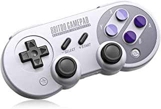 8Bitdo SN30 Pro,Wireless Bluetooth Controller with Classic Joystick Gamepad for PC,Android,Windows,macOS,Steam - Nintendo Switch (SN30 Pro)