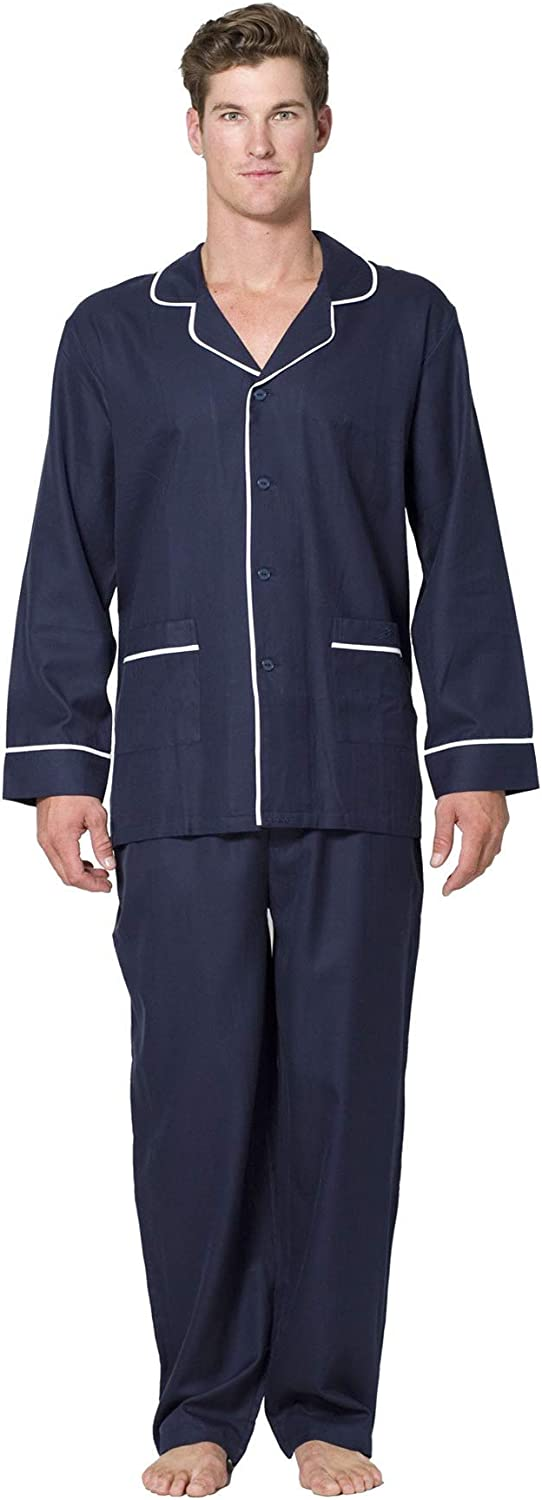 Intimo Mens Our shop most popular Fixed price for sale Herringbone Long Set Pajama Piping with