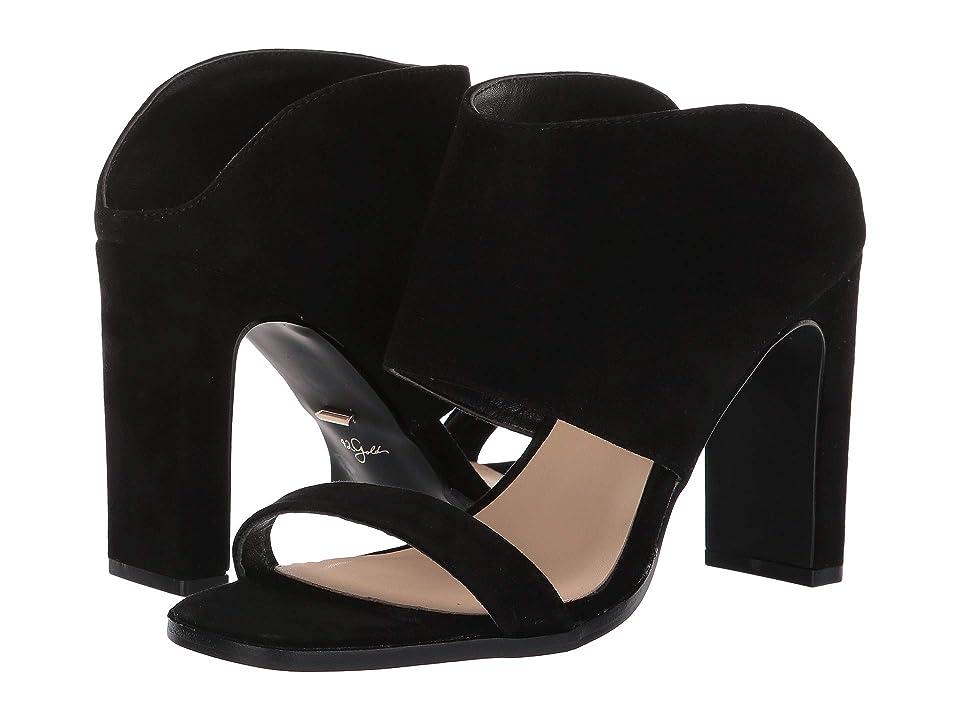 Image of 42 GOLD Linx (Black Suede) Women's Sandals