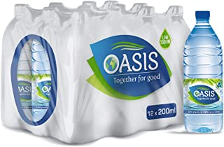 Oasis Still Water, 200 ml (Pack of 12)
