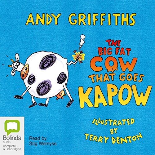The Big Fat Cow Goes Kapow cover art