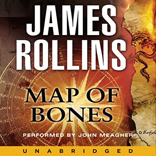 Map of Bones audiobook cover art